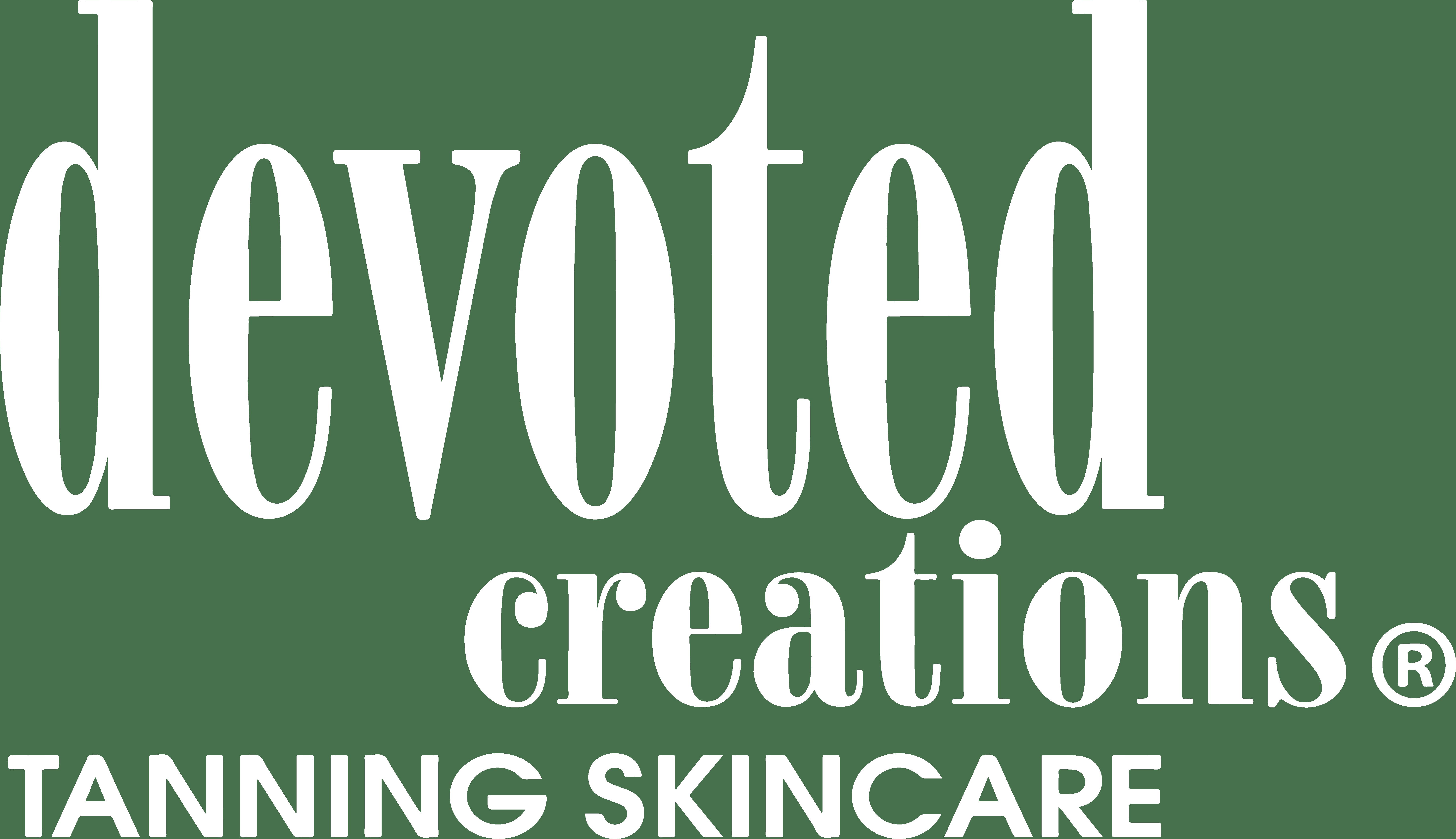 devoted creations logo white